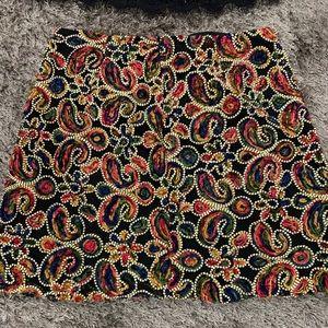 Zara skirt and matching top